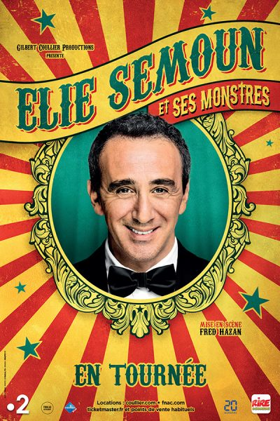 Elie Semoun - Spectacle à Brest - Arsenal Productions