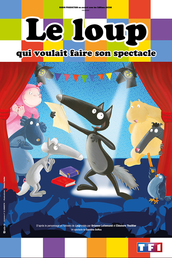 Le loup qui voulait faire son spectacle - Spectacle à Brest - Arsenal Productions