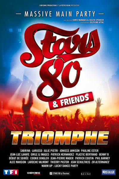 STARS 80 - Spectacle à Brest - Arsenal Productions