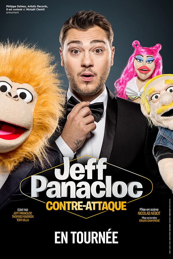 Jeff Panacloc - Spectacle à Brest - Arsenal Productions