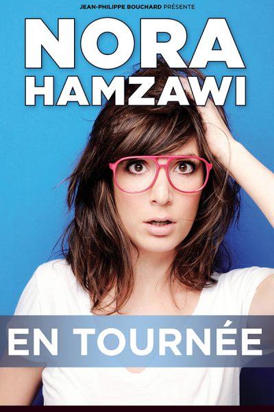 Nora Hamzawi - Spectacle à Brest - Arsenal Productions